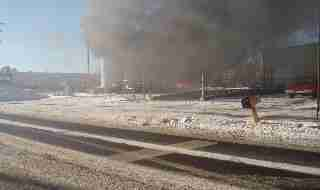 EXPLOSION WITH WORKING FIRE AT SAFETY-KLEEN