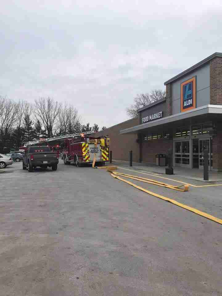 Reported Structure Fire At Aldis
