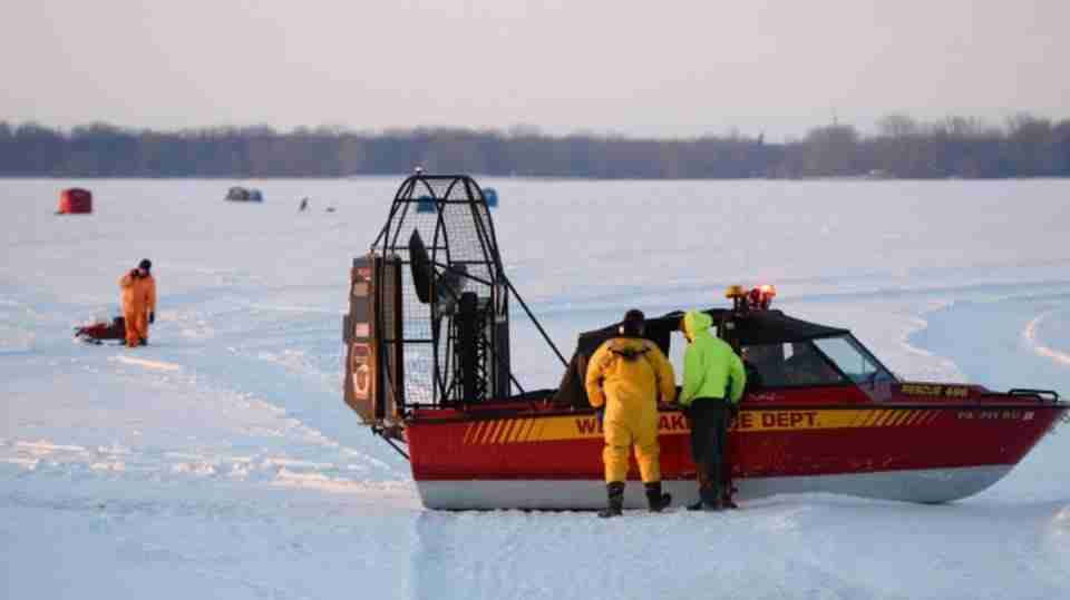Ice Rescue and Emergency Response Class