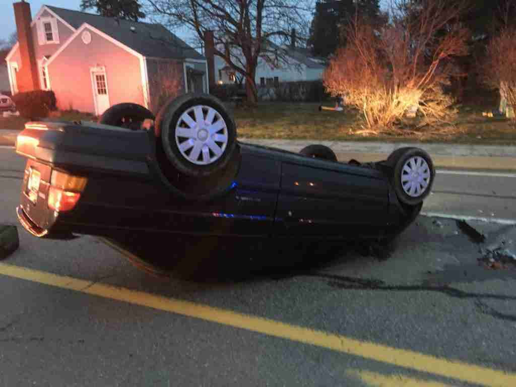 Vehicle Accident with Rollover