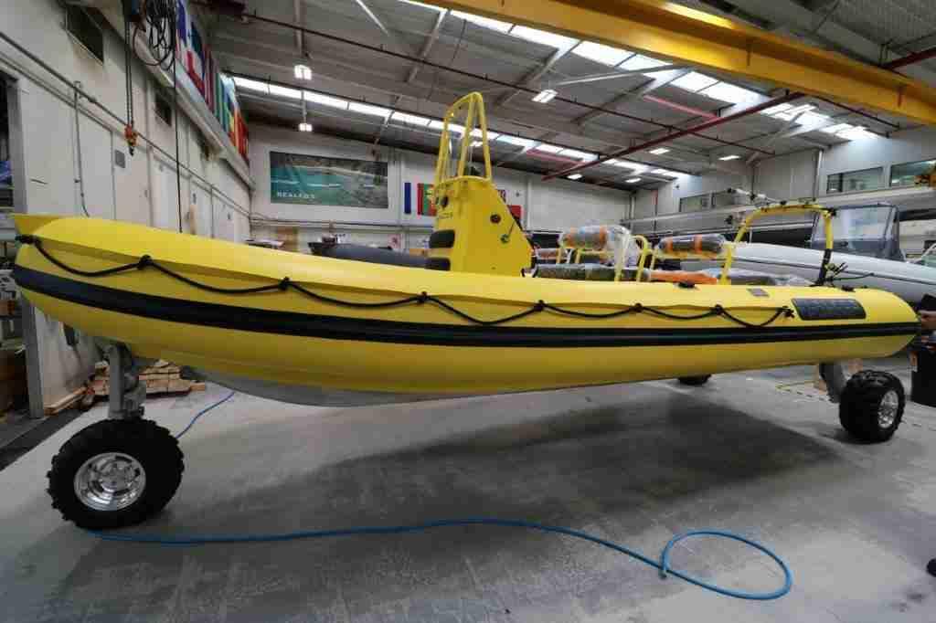 Sealegs Rescue Boat