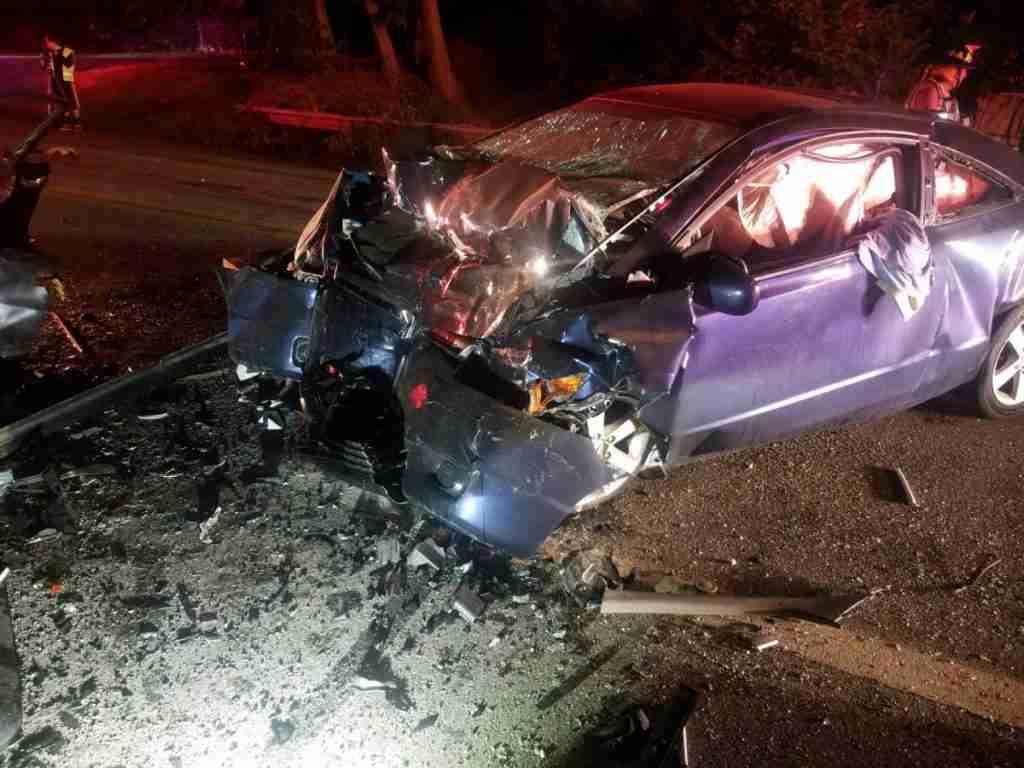 Accident W/ Entrapment – 3300 Block West Lake Road