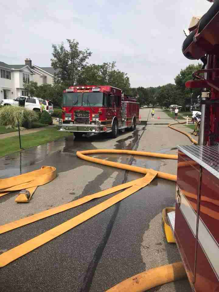 Engine and Ladder assist on multiple fires
